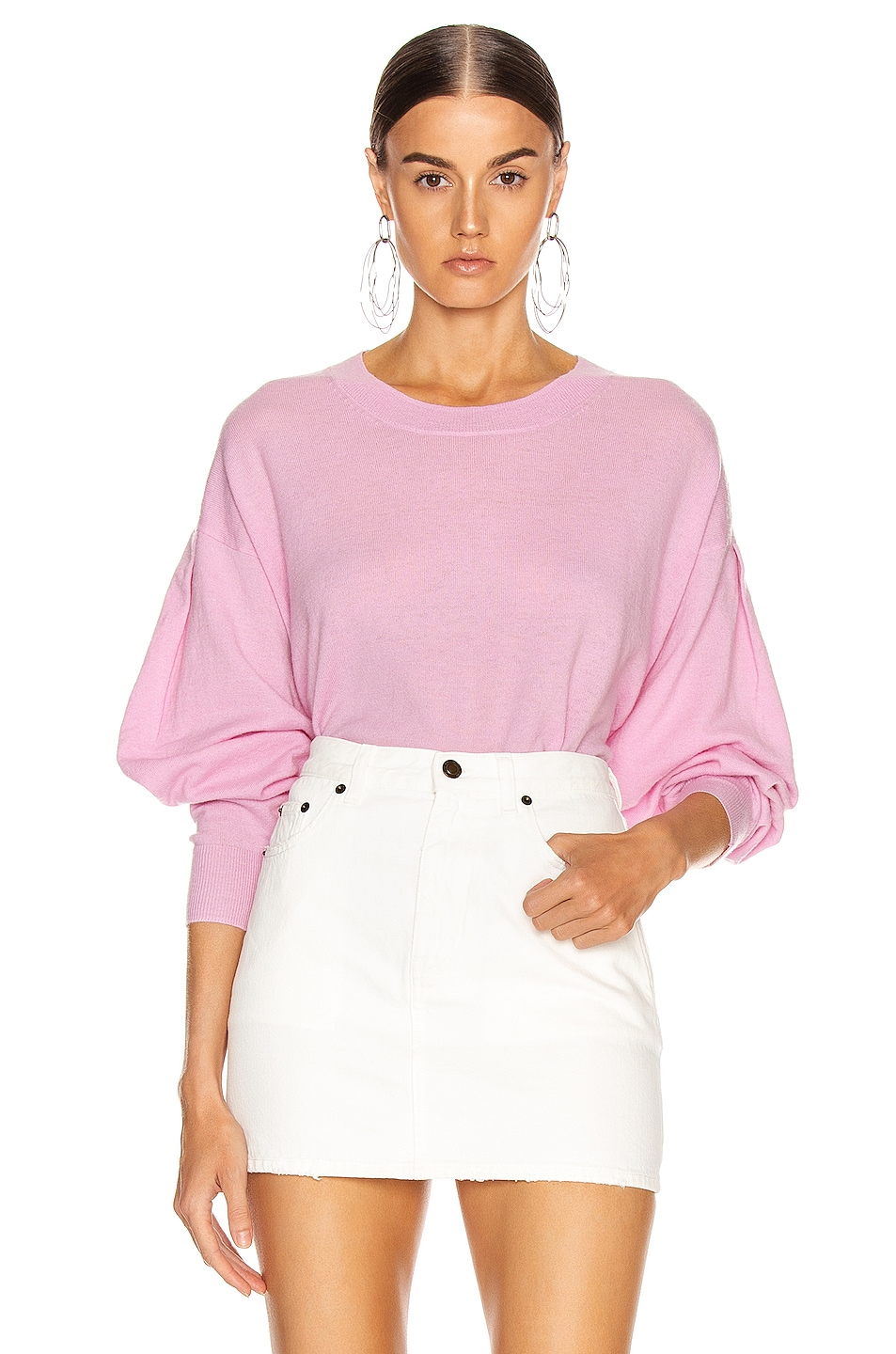 Image 1 of IRO Dover Sweater in Old Pink