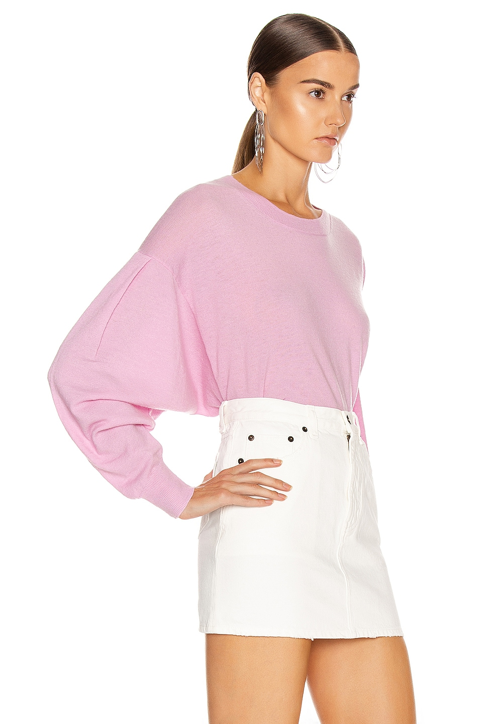 Image 2 of IRO Dover Sweater in Old Pink