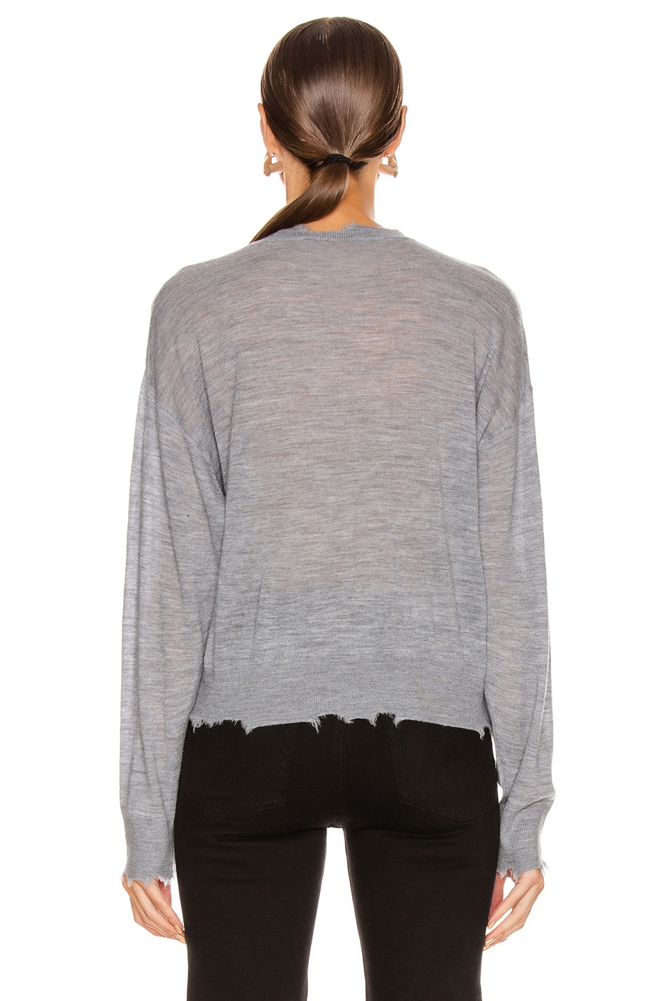 Image 3 of IRO Brattle Sweater in Mixed Grey