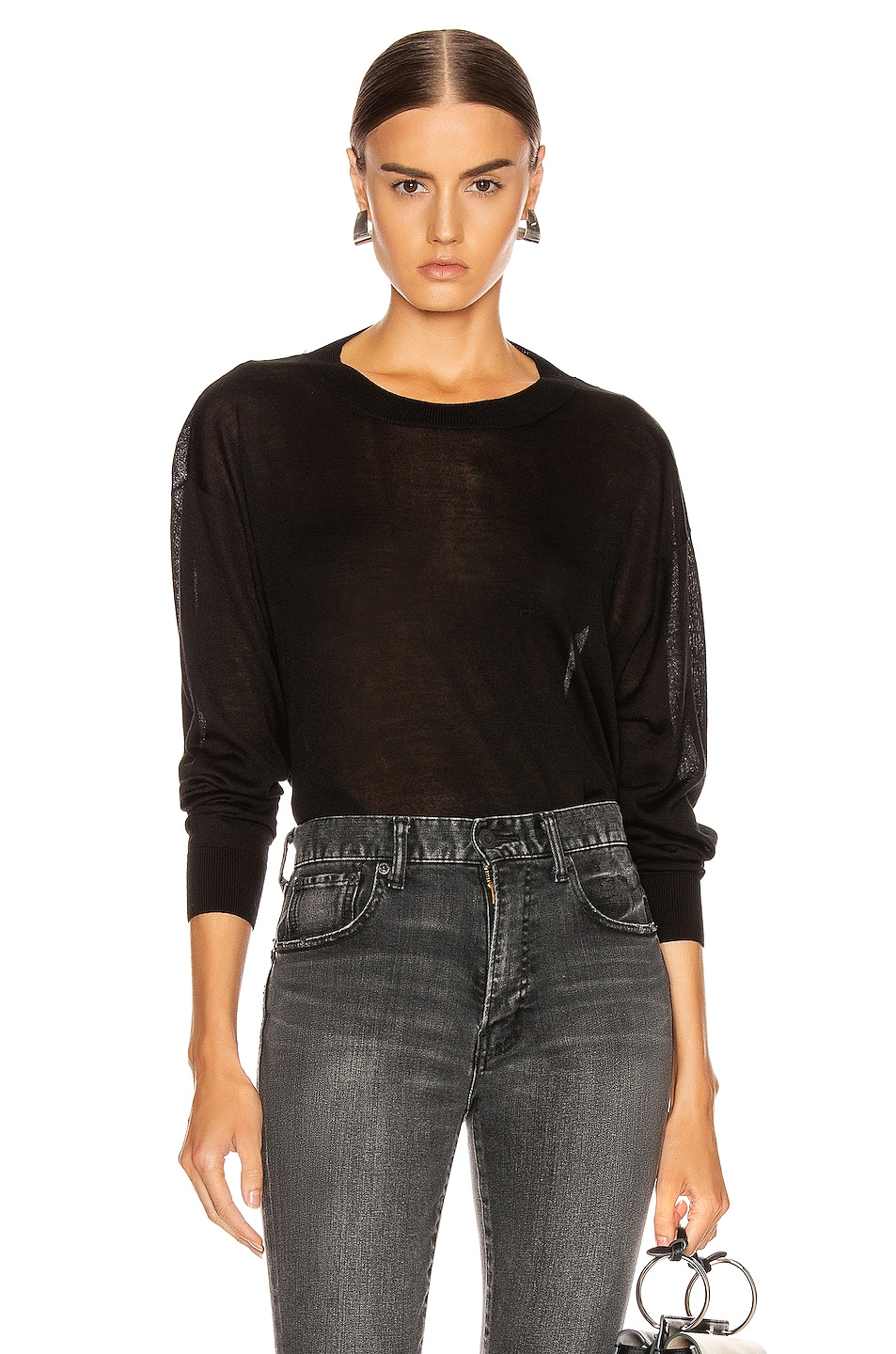Image 2 of IRO Ladson Sweater in Black