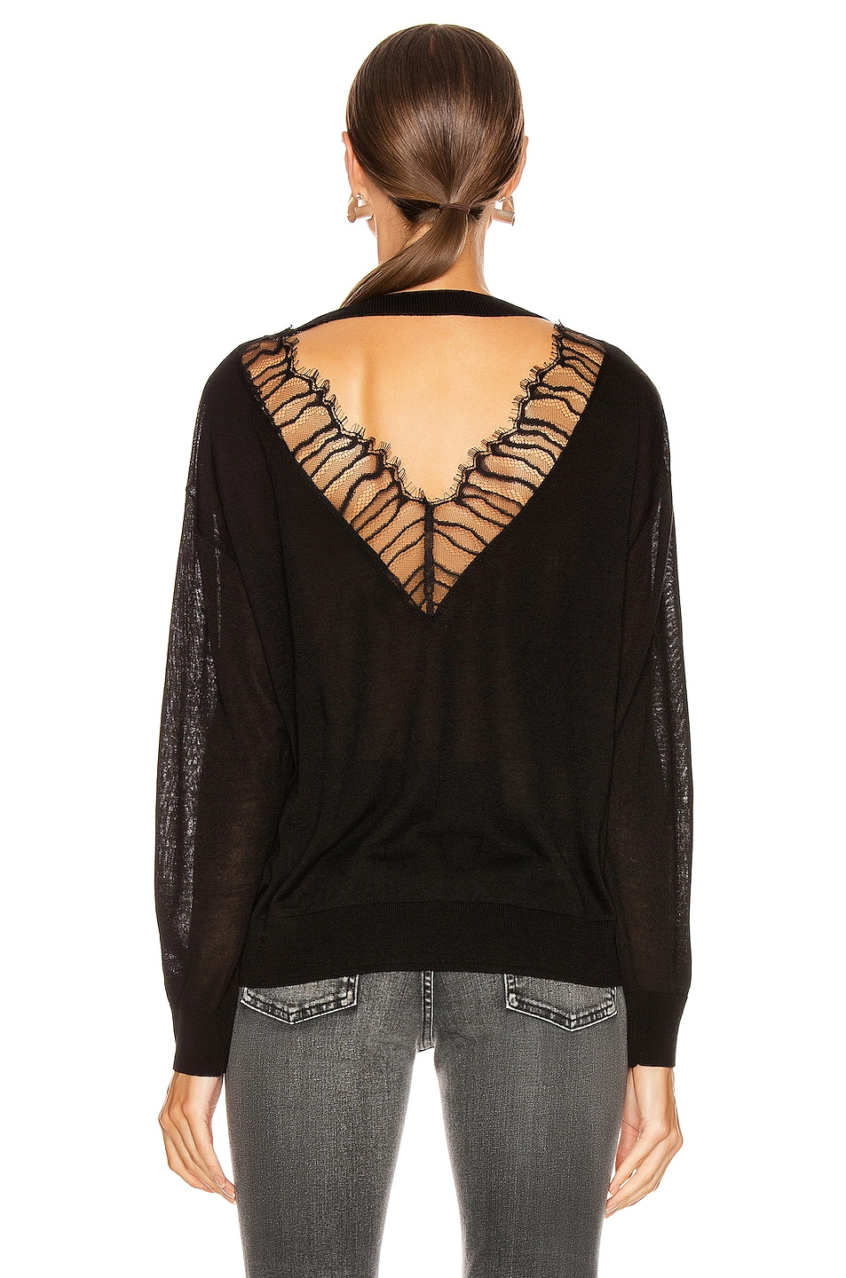 Image 4 of IRO Ladson Sweater in Black