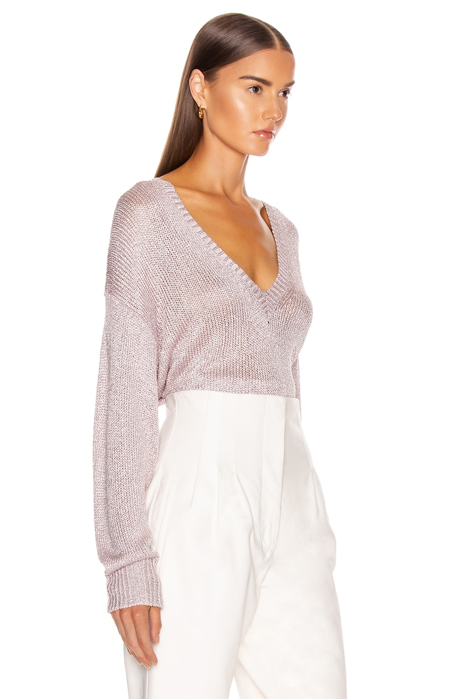 Image 2 of IRO Nanga Sweater in Pink Silver