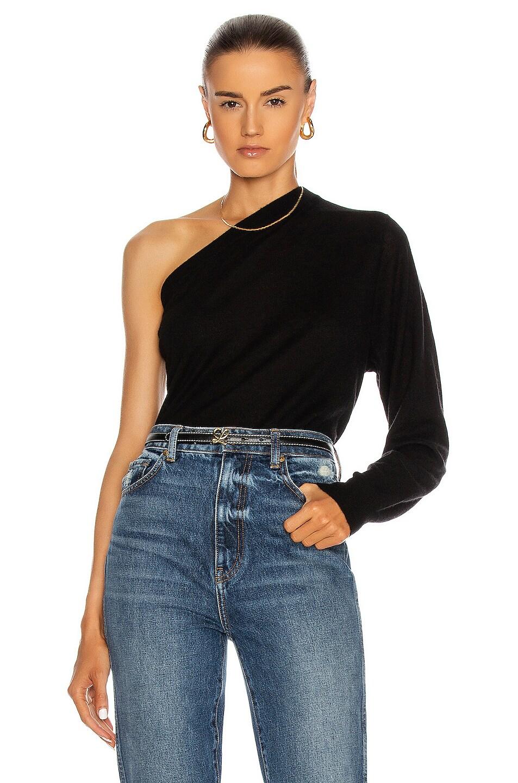Image 1 of IRO Silky Sweater in Black