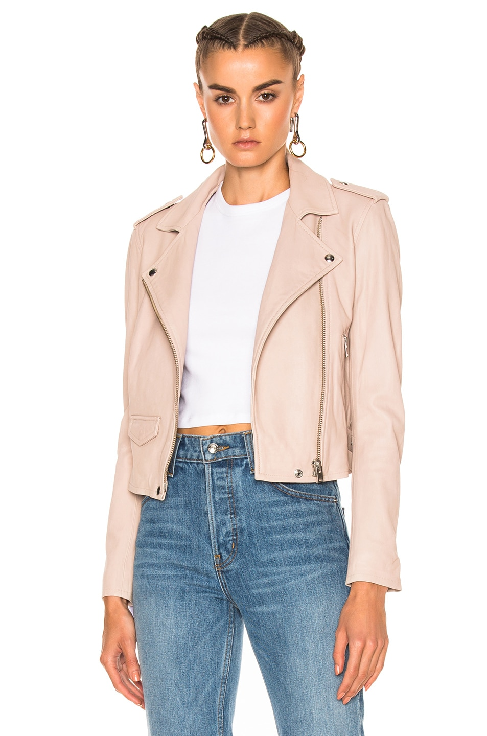 Image 1 of IRO Ashville Jacket in Pink Sand