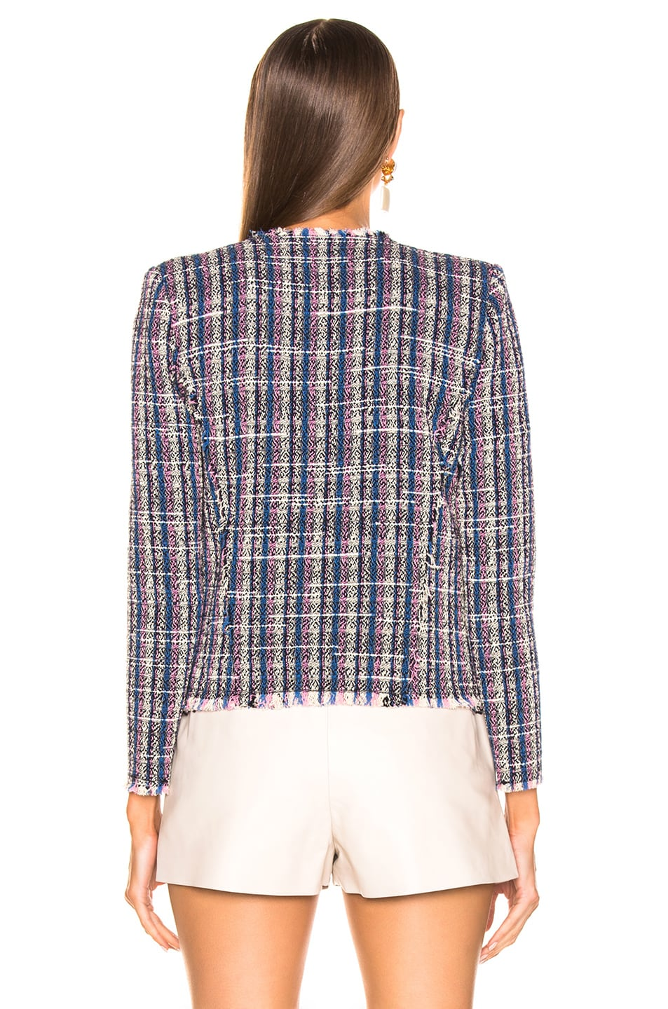 Image 3 of IRO Frannie Jacket in Blue