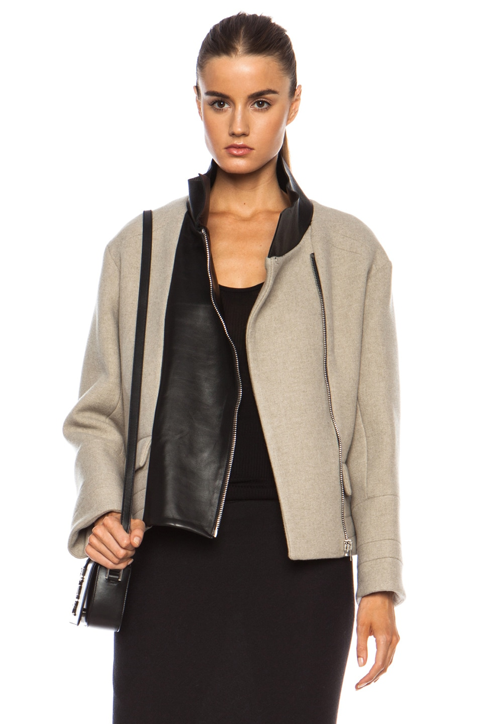 Image 1 of IRO Carson Jacket in Beige