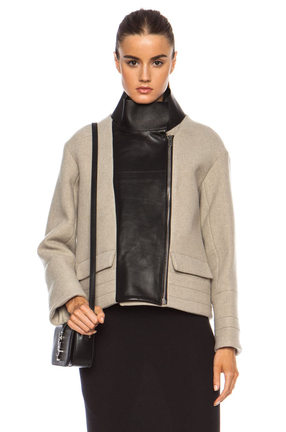 Image 2 of IRO Carson Jacket in Beige