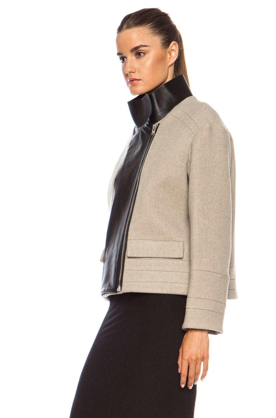 Image 3 of IRO Carson Jacket in Beige