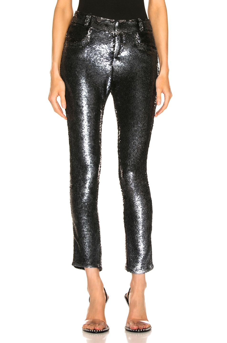 Image 1 of IRO Marvelyo Pants in Anthracite