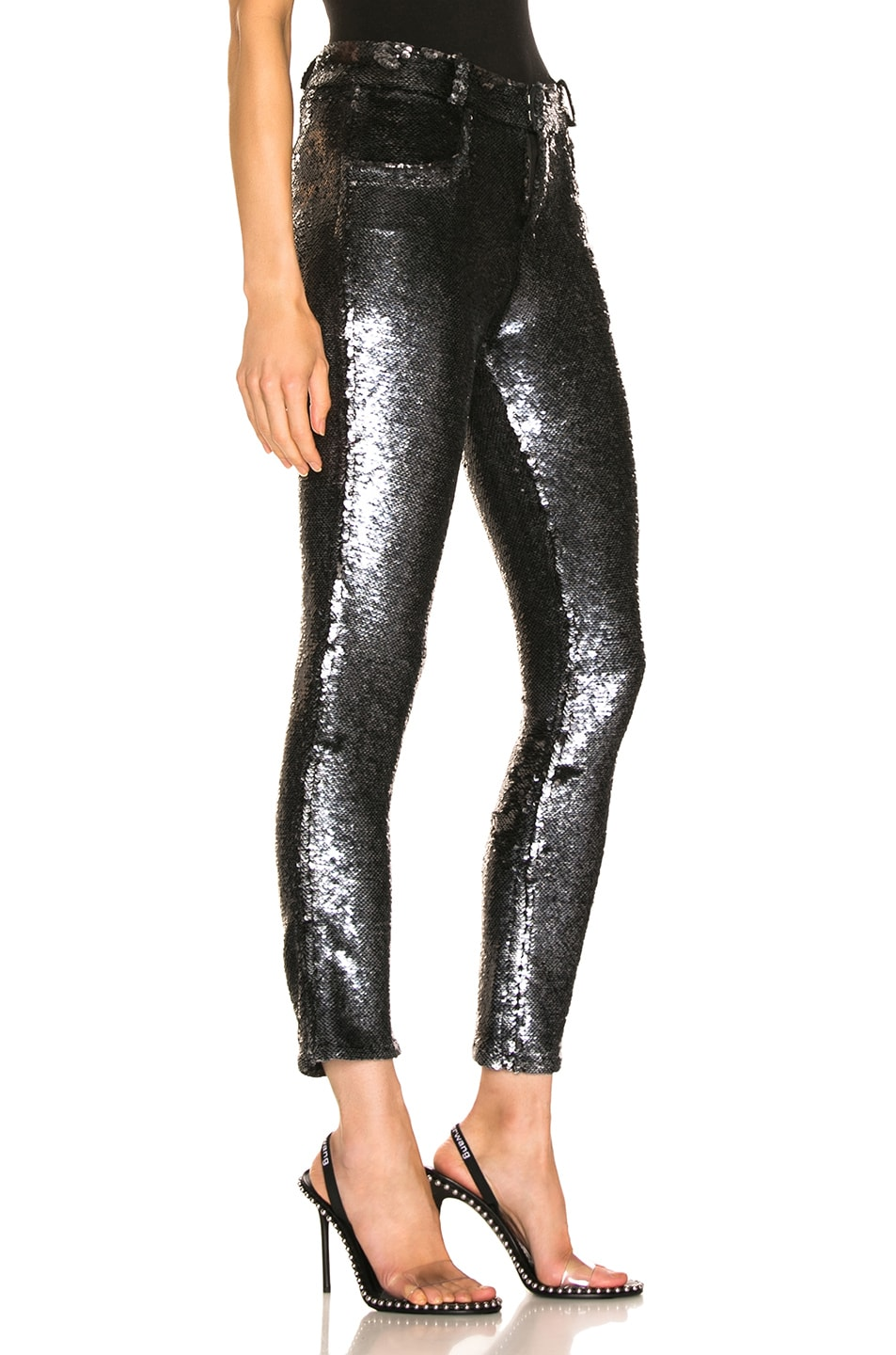 Image 2 of IRO Marvelyo Pants in Anthracite