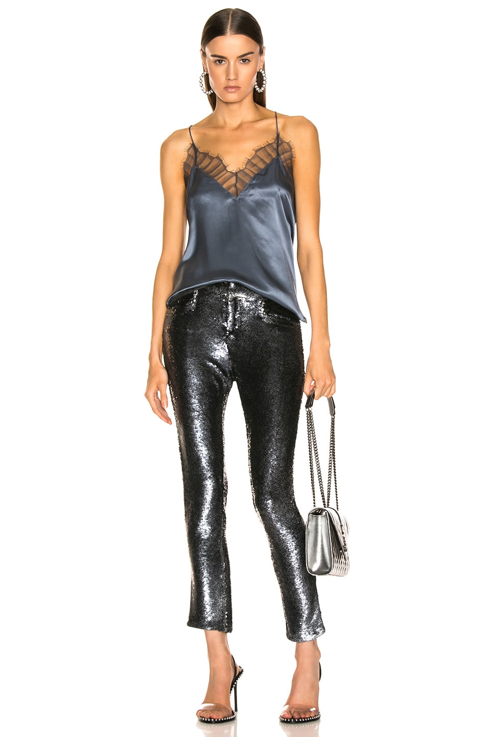 Image 4 of IRO Marvelyo Pants in Anthracite