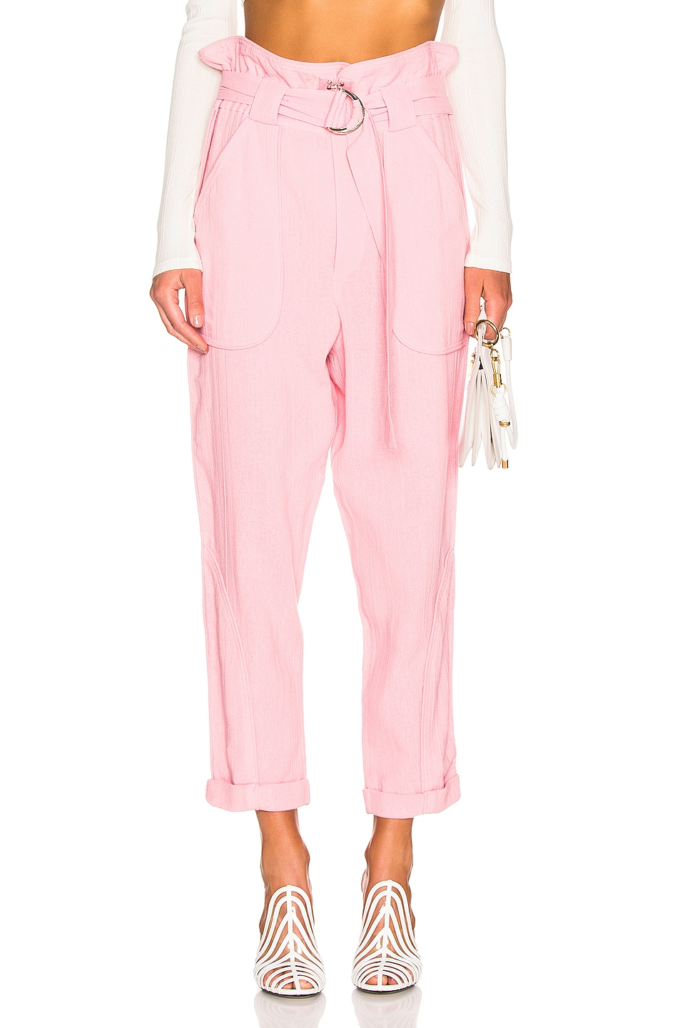 Image 1 of IRO Harmony Pant in Light Pink