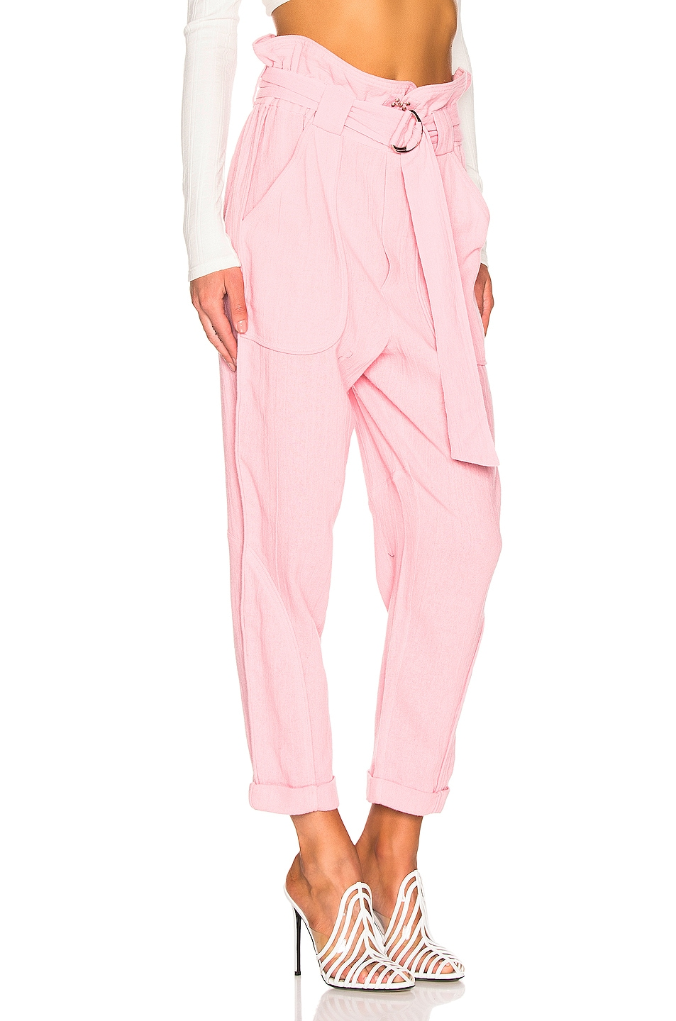Image 2 of IRO Harmony Pant in Light Pink