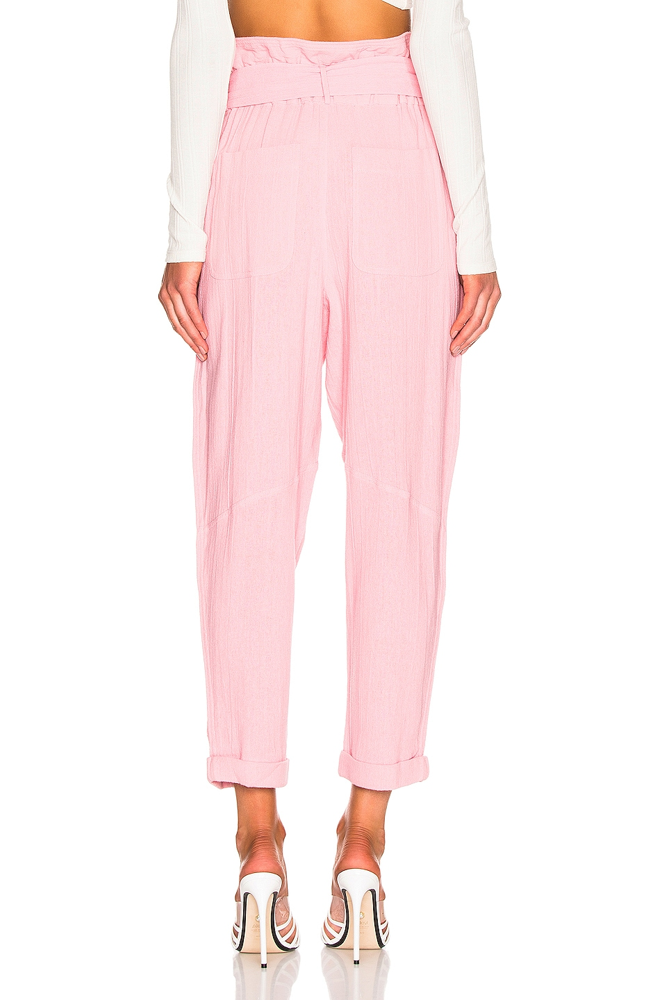 Image 3 of IRO Harmony Pant in Light Pink