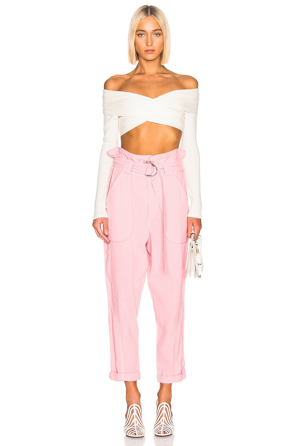 Image 4 of IRO Harmony Pant in Light Pink
