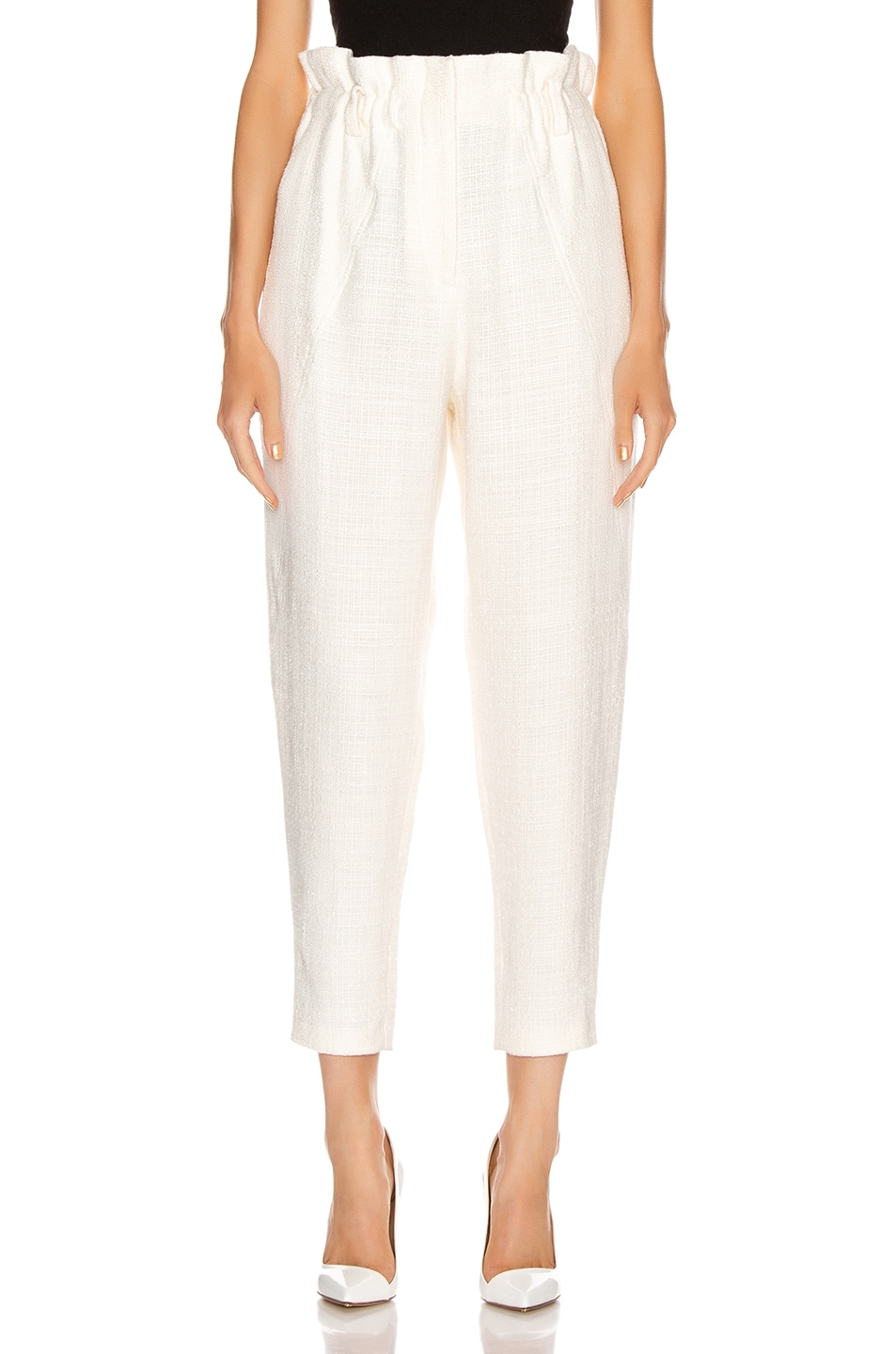Image 1 of IRO Kaly Pants in White