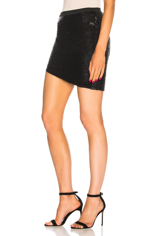 Image 3 of IRO Reward Skirt in Black