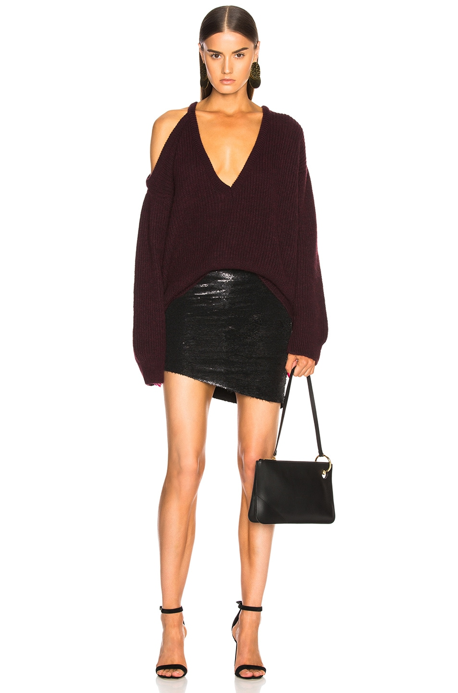 Image 5 of IRO Reward Skirt in Black