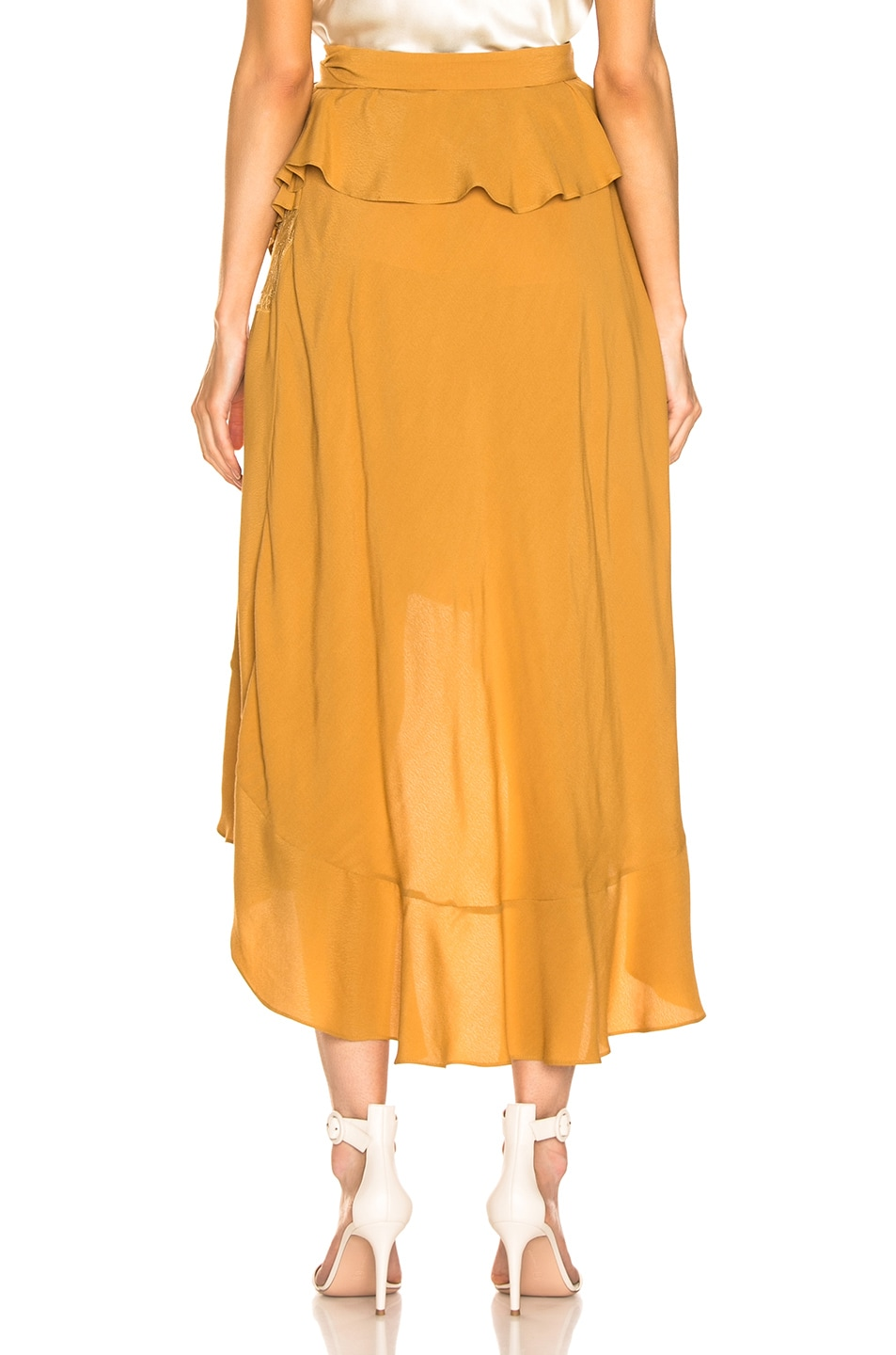 Image 4 of IRO Breathed Skirt in Beige