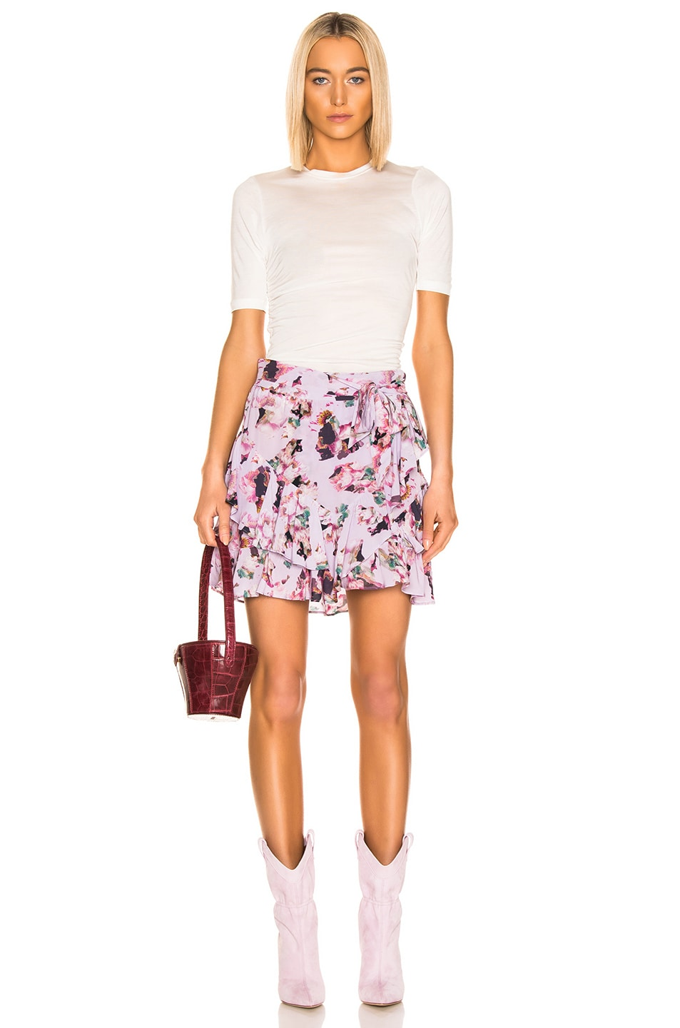 Image 4 of IRO Daring Skirt in Light Purple