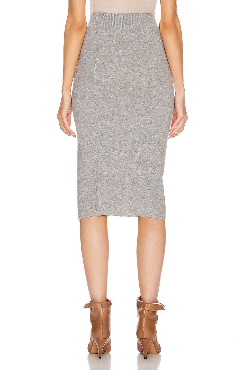 Image 4 of IRO Dorset Skirt in Mixed Grey