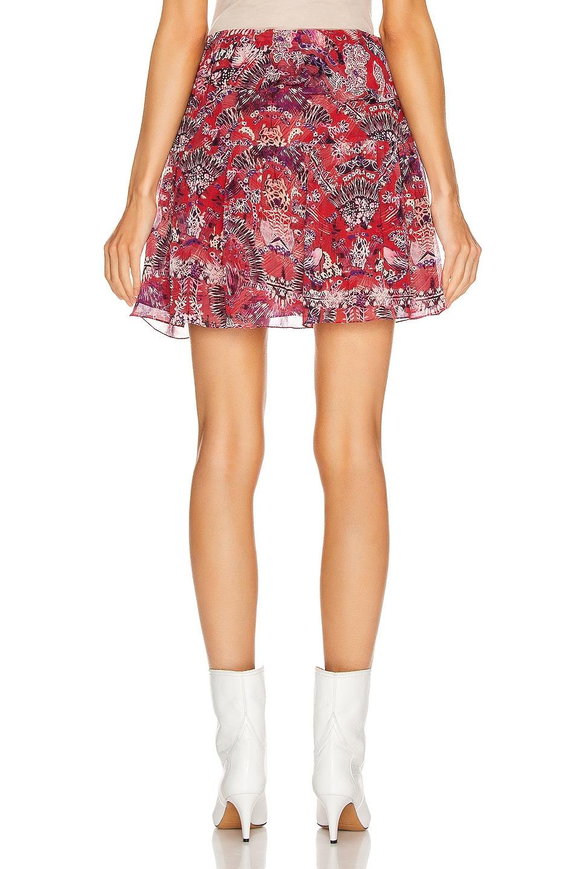 Image 3 of IRO Tingo Skirt in Cranberry