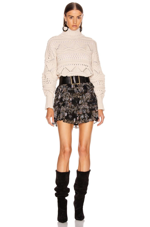 Image 4 of IRO Herty Skirt in Black