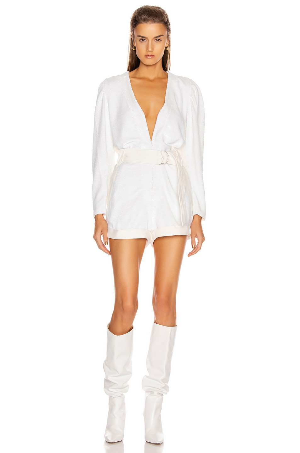 Image 1 of IRO Ballolo Romper in Ecru