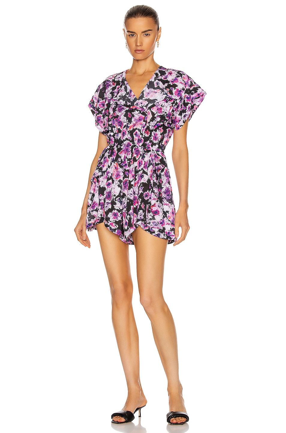 Image 1 of IRO Wooh Romper in Purple