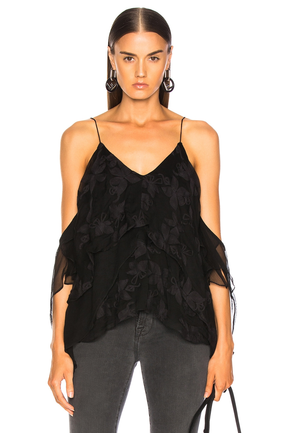 Image 1 of IRO Goats Top in Black