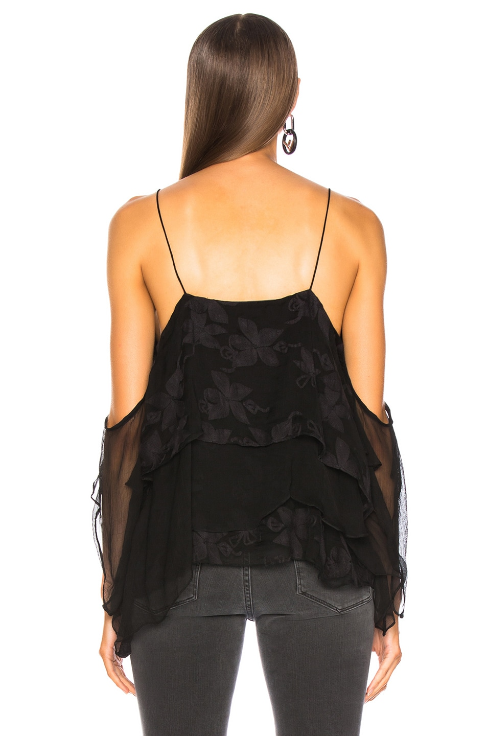 Image 3 of IRO Goats Top in Black