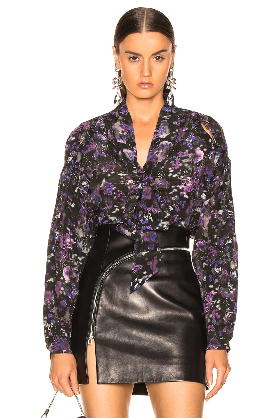 Image 1 of IRO Equinoxe Blouse in Purple