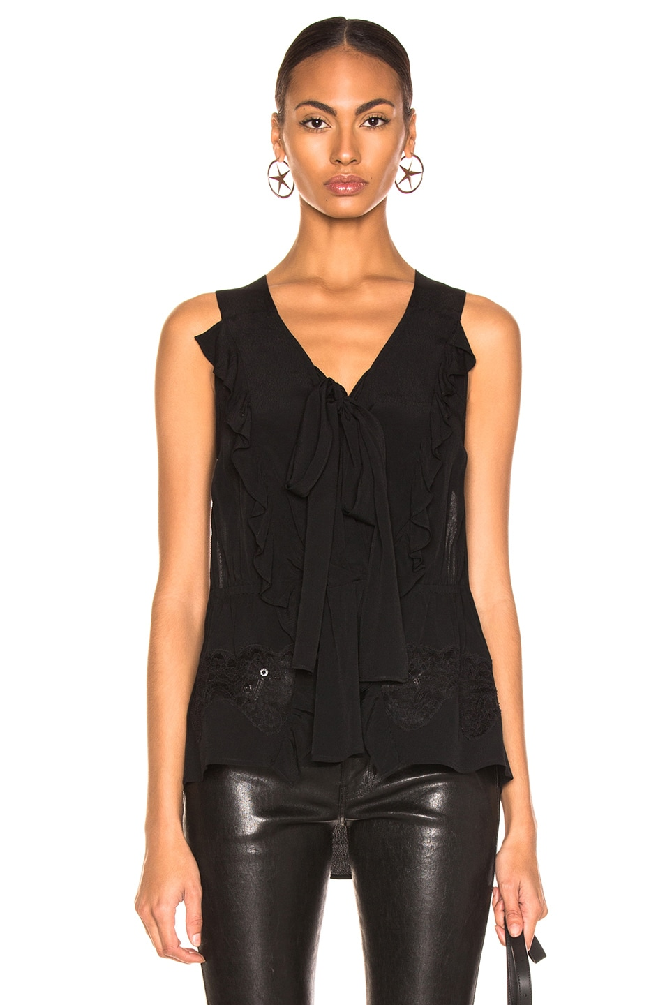 Image 1 of IRO Days Top in Black