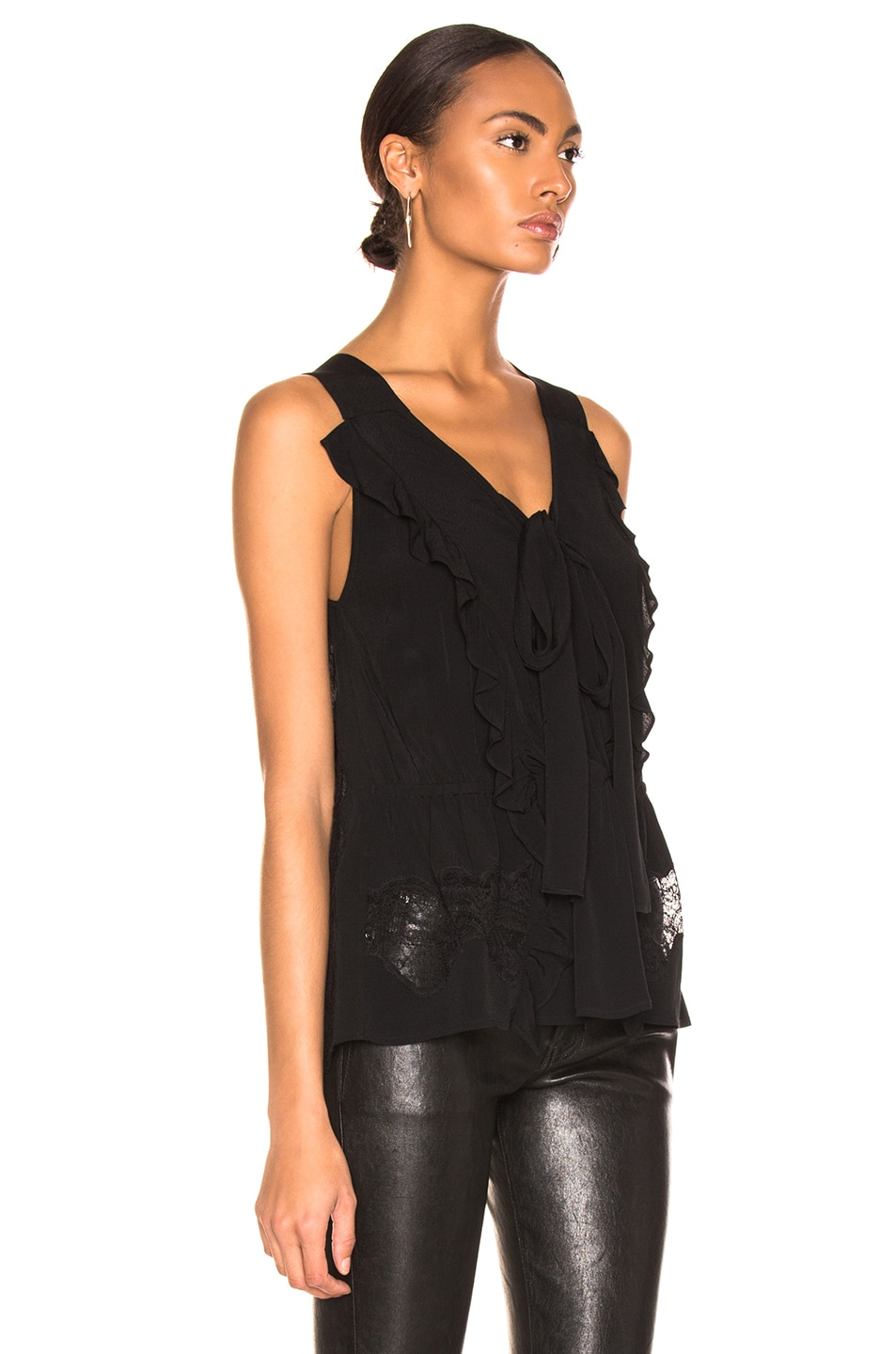 Image 2 of IRO Days Top in Black