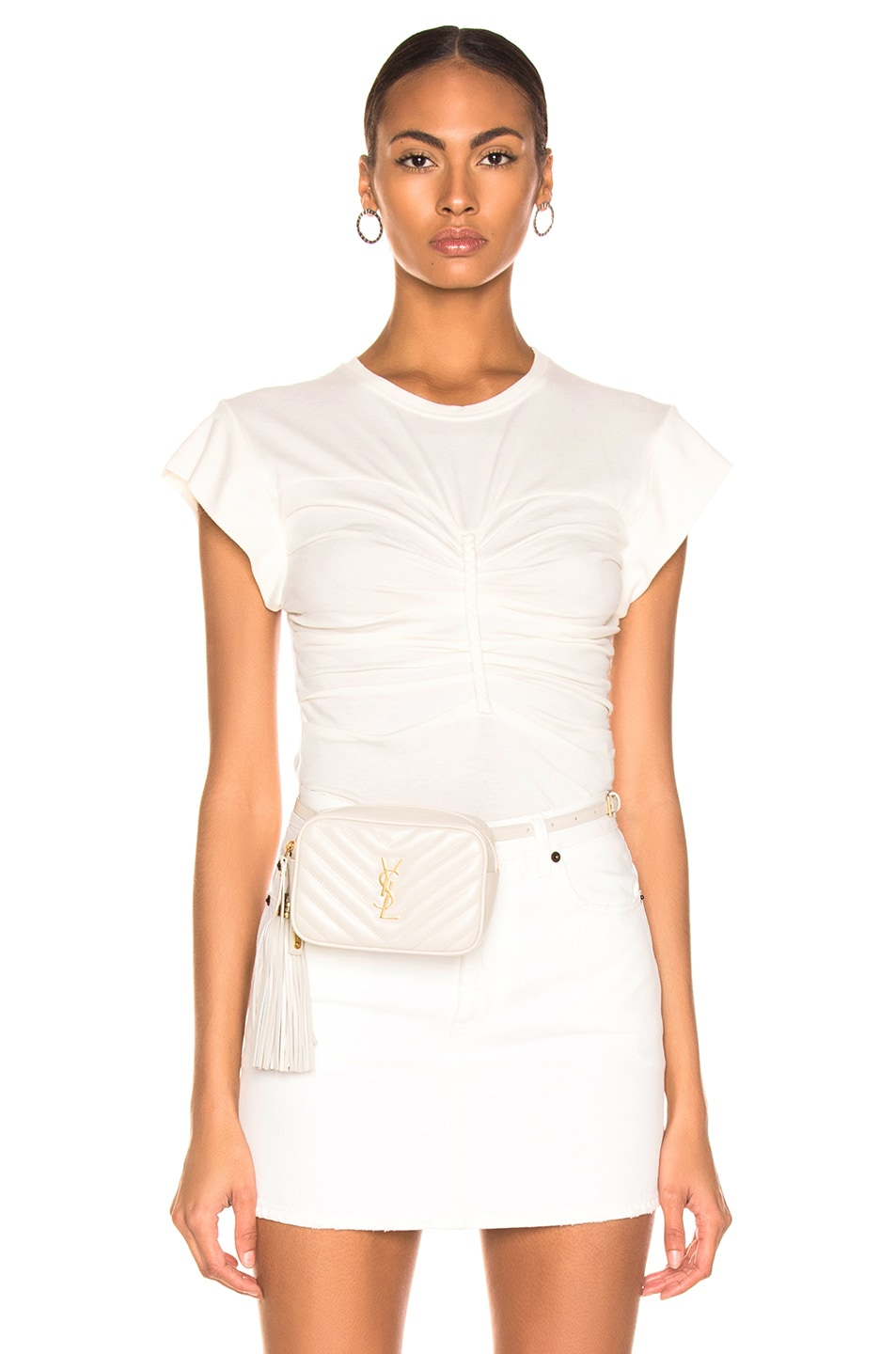Image 1 of IRO Nippy Top in White