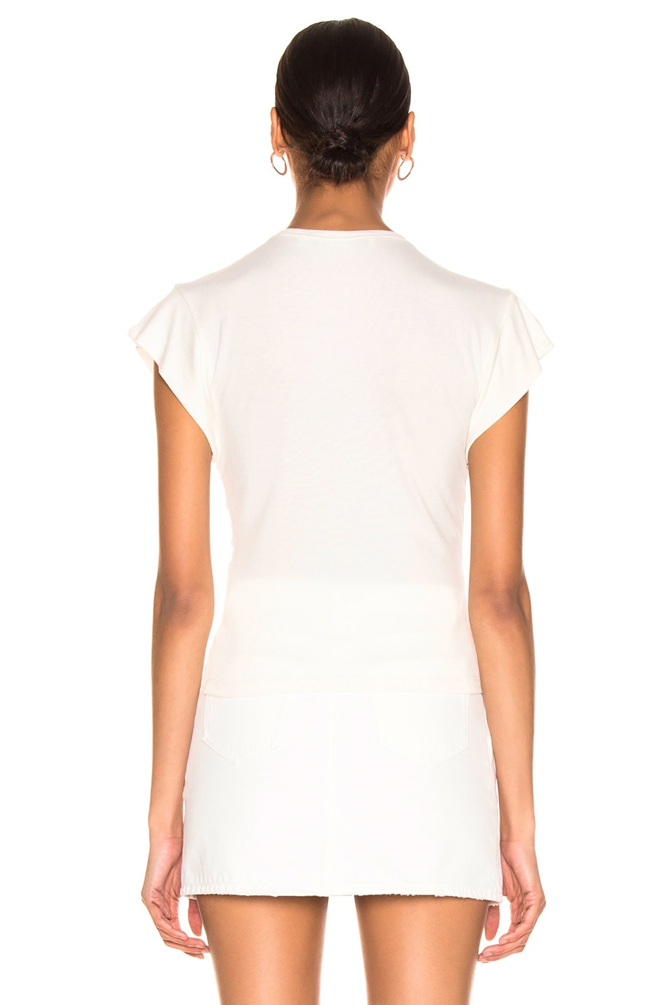 Image 3 of IRO Nippy Top in White