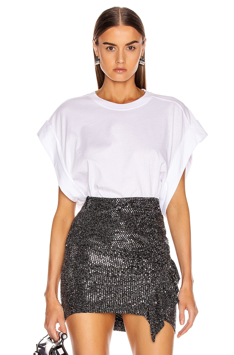 Image 1 of IRO Sparks Tee in White