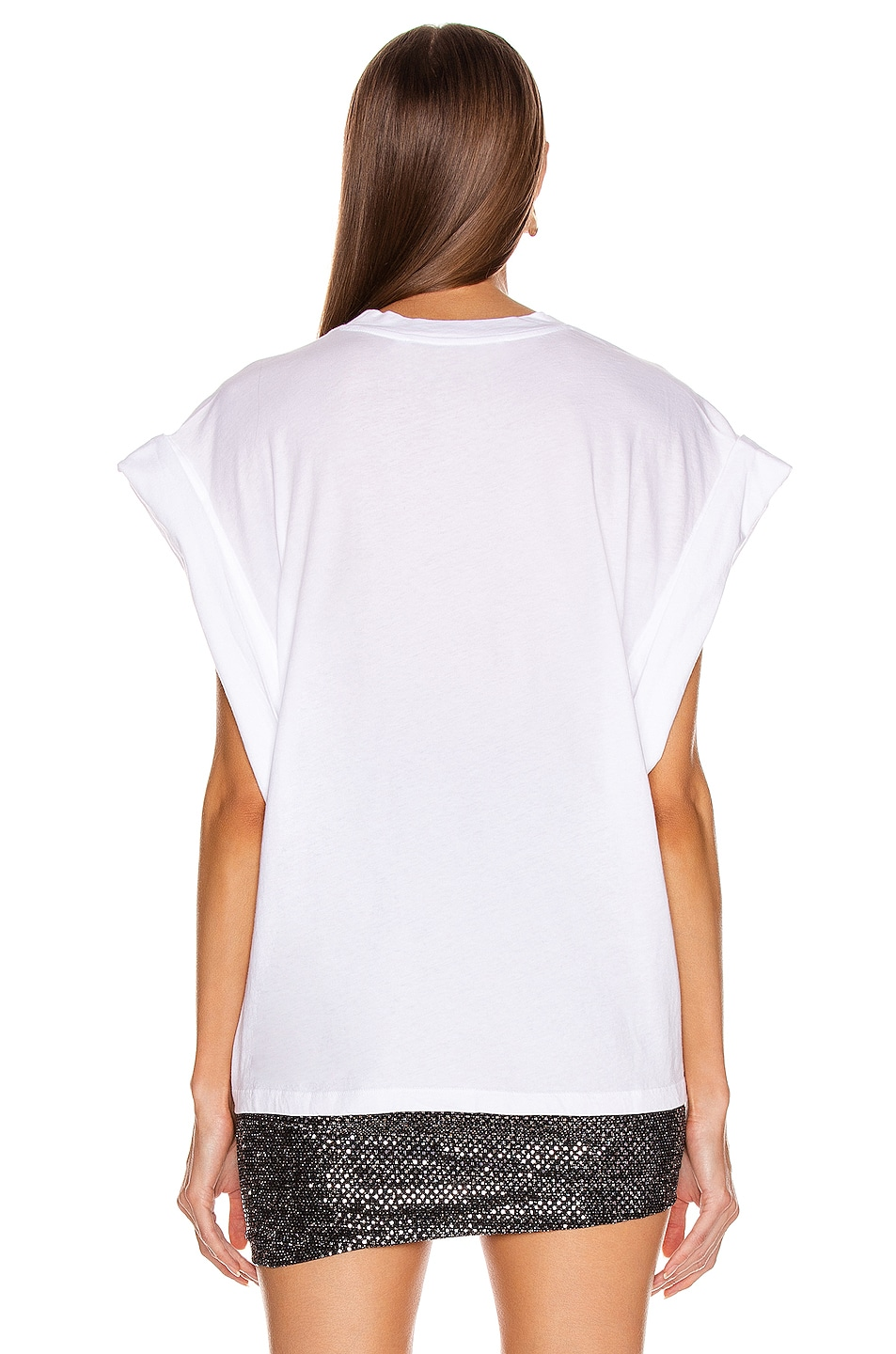 Image 3 of IRO Sparks Tee in White