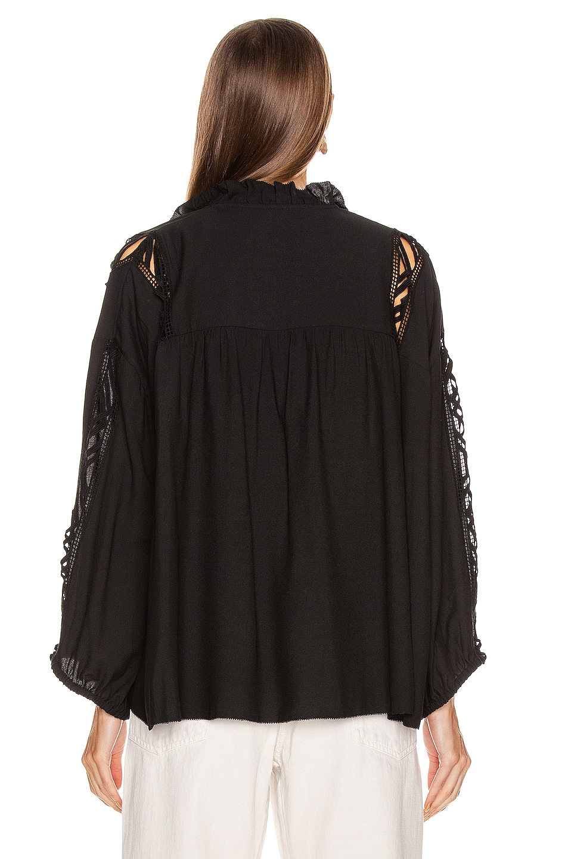 Image 3 of IRO Felicia Blouse in Black