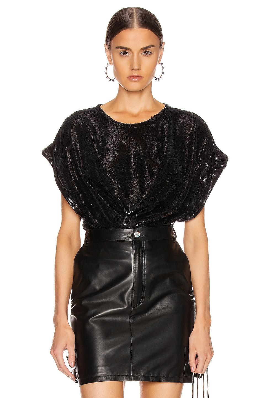 Image 1 of IRO Mia Top in Black