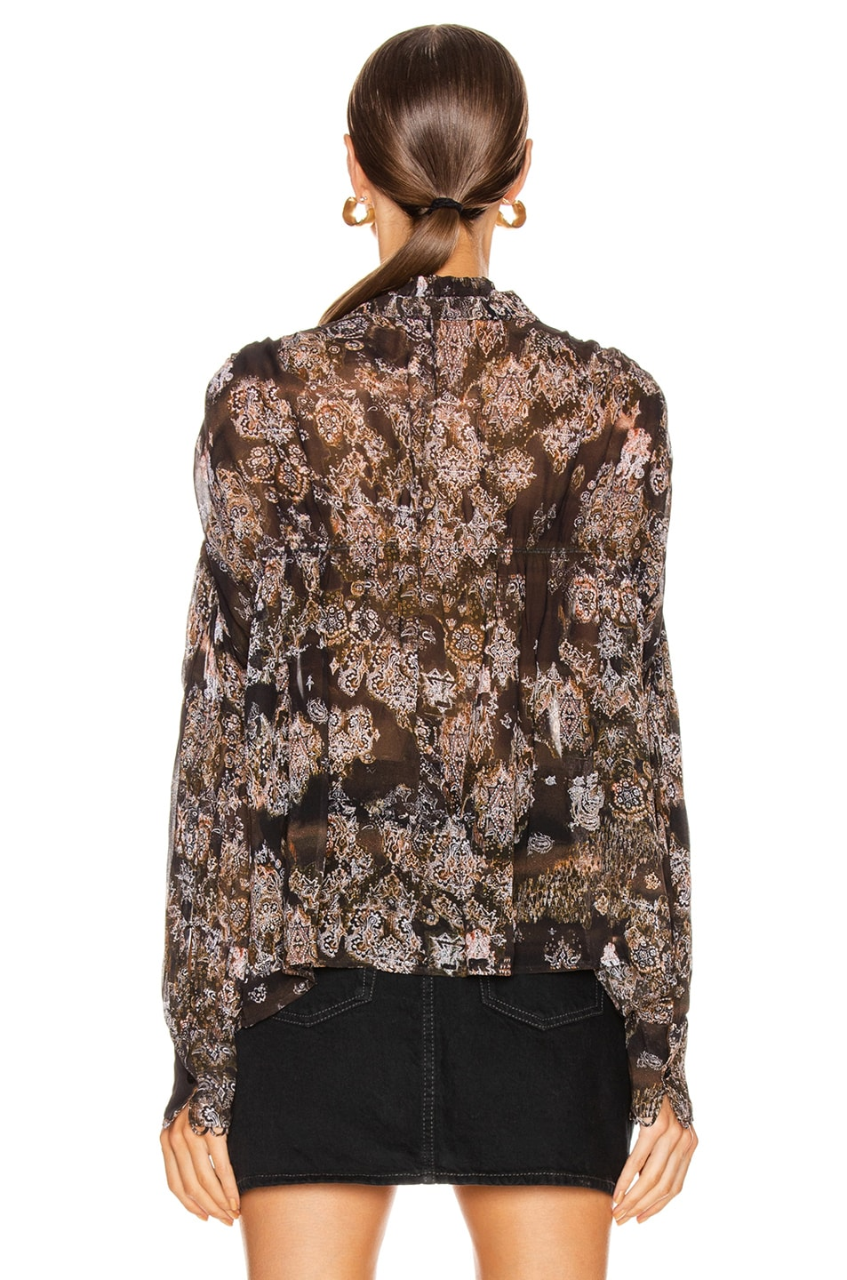 Image 3 of IRO Sianna Blouse in Black
