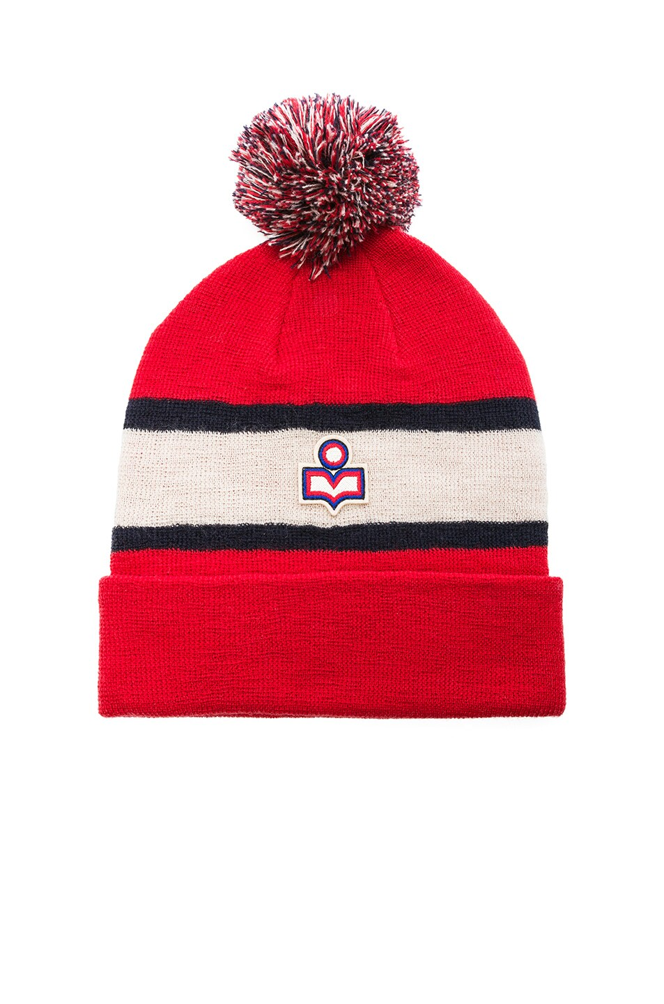 Image 1 of Isabel Marant Halden Beanie in Red