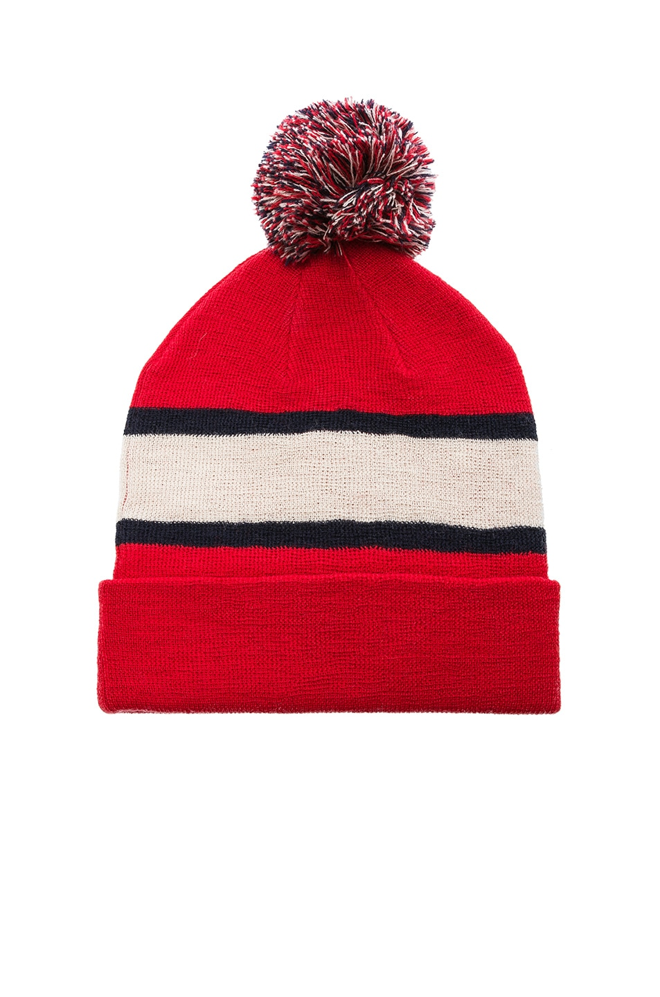 Image 2 of Isabel Marant Halden Beanie in Red