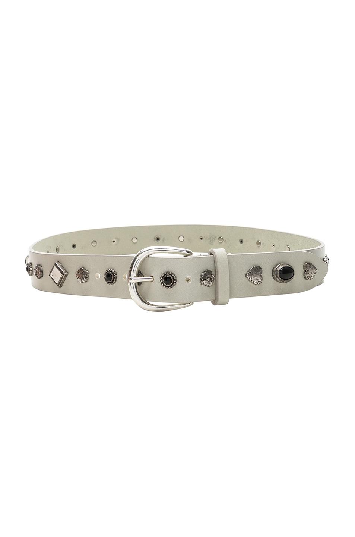 Image 1 of Isabel Marant Studs Belt in White