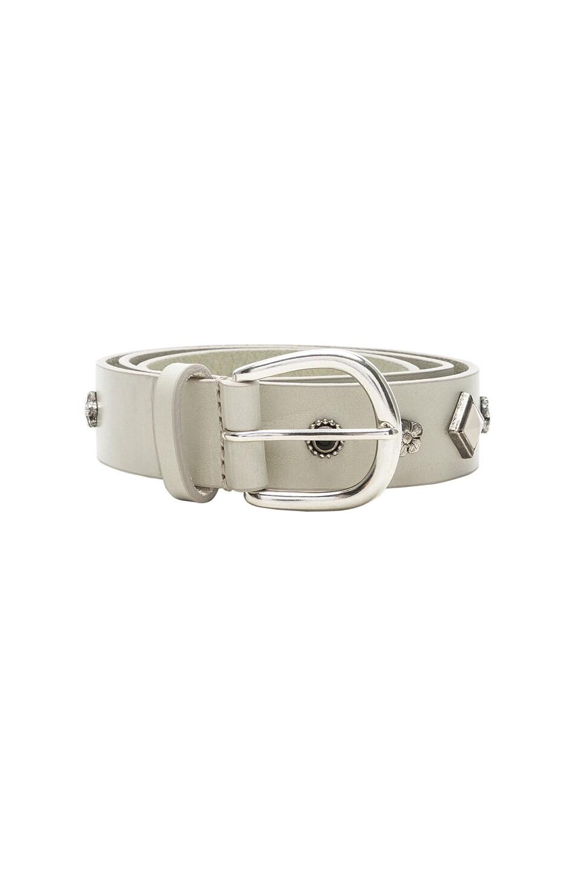 Image 3 of Isabel Marant Studs Belt in White