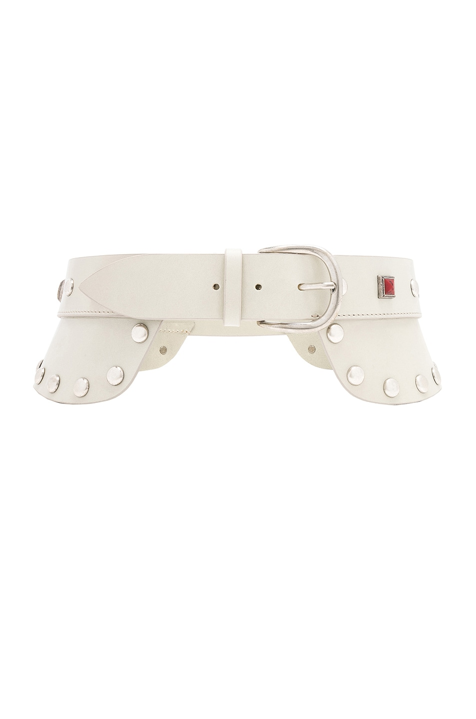 Image 1 of Isabel Marant Tricy Belt in Chalk