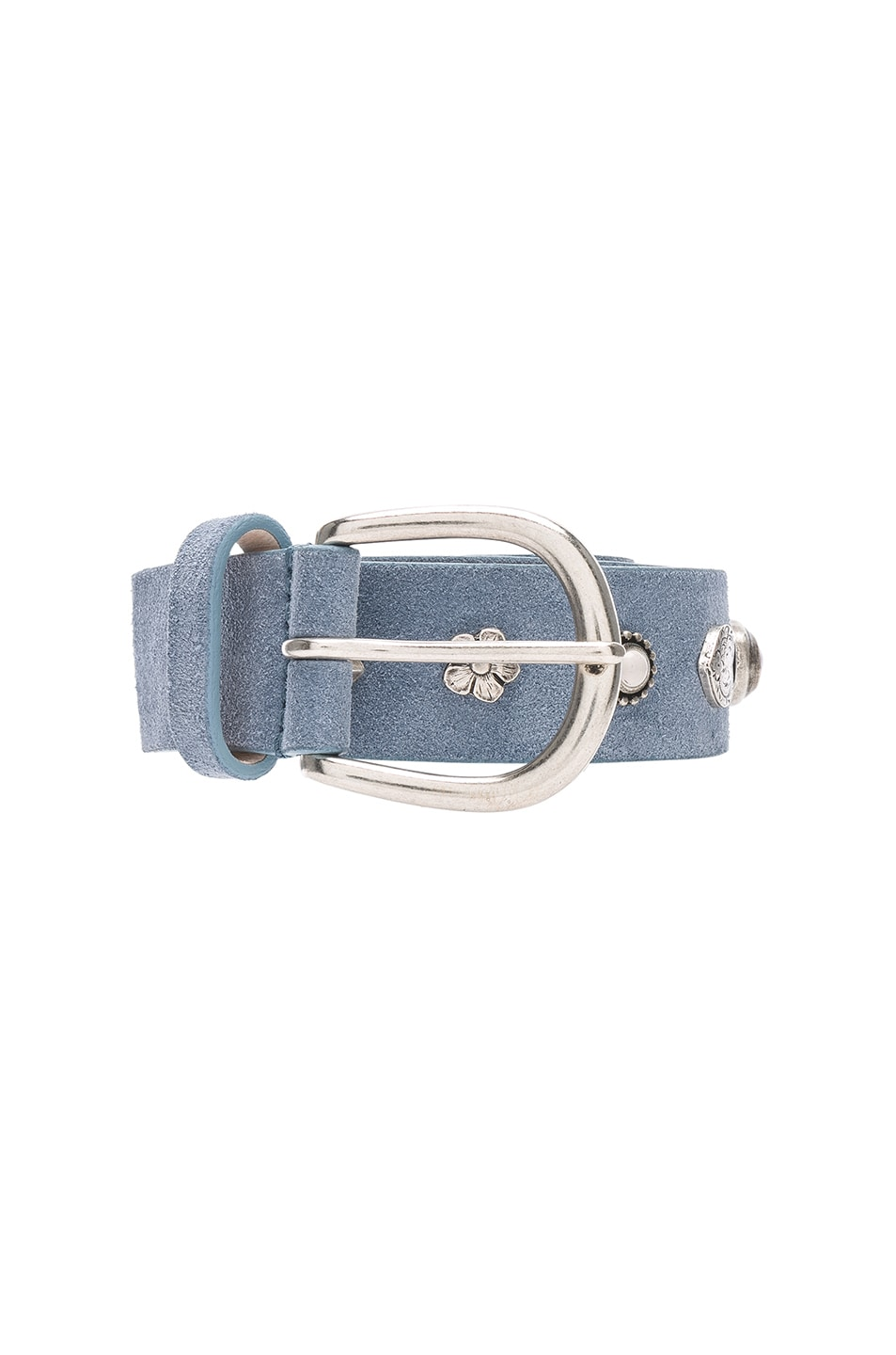 Image 1 of Isabel Marant Luke Belt in Sky