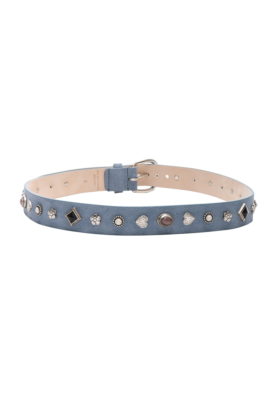 Image 3 of Isabel Marant Luke Belt in Sky