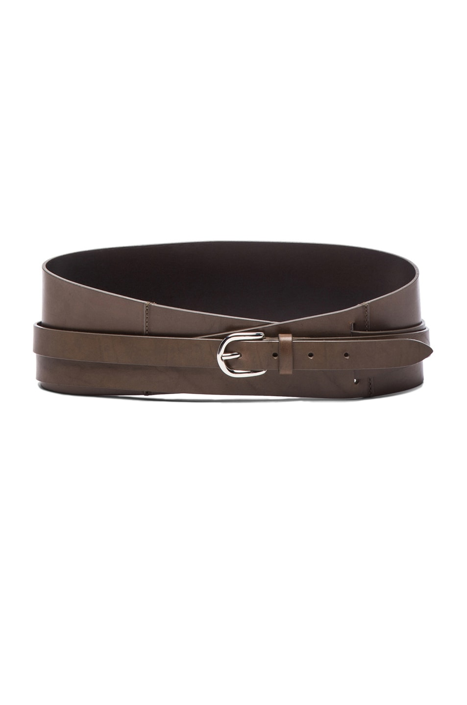 Image 1 of Isabel Marant Damon Over Belt in Dark Bronze