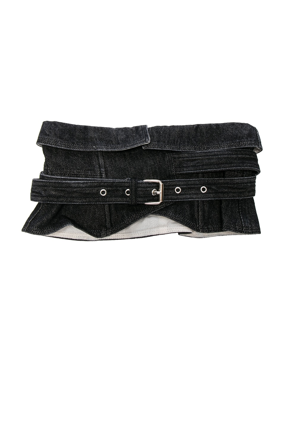 Image 1 of Isabel Marant Erika Waist Belt in Faded Black